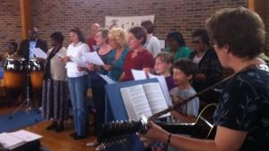 Music Group Singing
